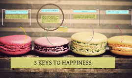3 keys to happiness