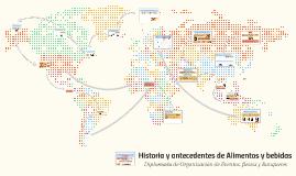 Copy of Historia y antecedentes de Alimentos y bebidas