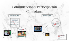 Comunicación y Participación Ciudadana