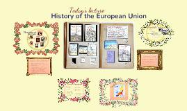 Copy of EU History