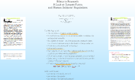 Ethics in Research - A Look at Consent Forms