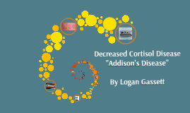 Decreased Cortisol Disease