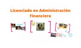 Licenciado en Administración Financiera