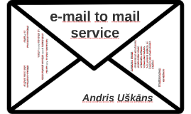 e-mail to mail