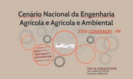Cenário Nacional da Engenharia Agrícola e Agrícola e Ambient