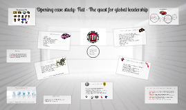 Copy of Opening case study: Fiat - The quest for global leadership