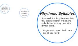 Phonics with Rythem Sticks