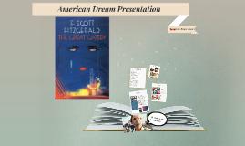 American Dream Presentation