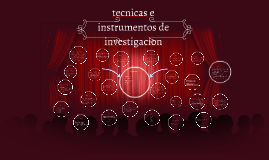 Copy of tecnicas e instrumentos de investigacion