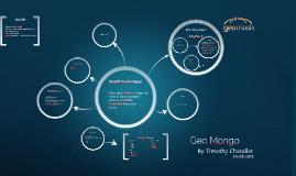 Geospatial Mongo