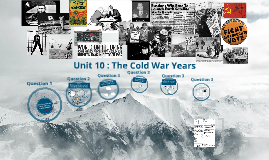 Chapter 27+29 Cold War