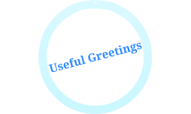Useful Greetings