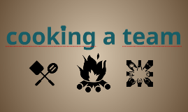 cooking a team