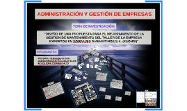 Copy of INGENIERIA DE MANTENIMIENTO