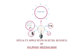 RFID & ITS APPLICATION IN RETAIL BUSINESS