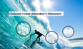 Claimant Count/ Jobseeker's Allowance