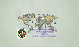 SISTEMAS OPERATIVOS – SIS 556