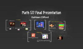 Math 577 Final Presentation