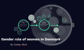 Gender role of women in Denmark