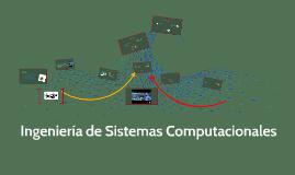 Ingeniería de Sistemas Computacionales