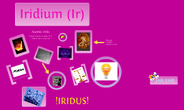 Copy of Iridium  prezi