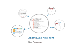 Joomla 3.2 new item