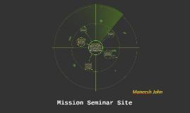 Project Seminar Site