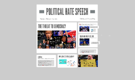 POLITICAL HATE SPEECH