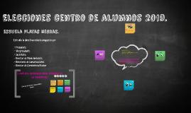 Elecciones centro de alumnos 2014.