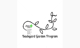 Backyard Garden Program
