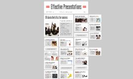Effective Presentation