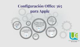 Copy of Configuración Office 365 en tu Apple