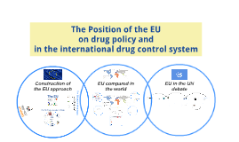 The Position of the EU on drug policy in the international d
