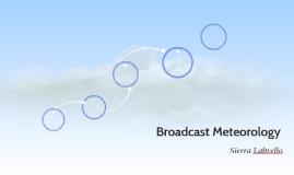 Broadcast Meteorology