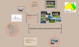 Australian Outdoor Recreational Activities