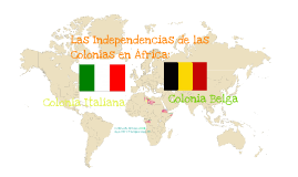 Las independencias de África