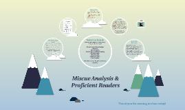 Miscue Analysis &