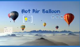 Copy of Hot Air Balloon