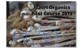 Maori Organics