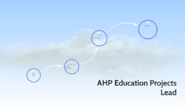 Copy of AHP Education Projects Lead