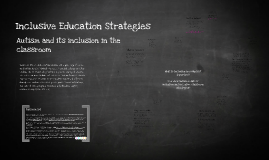 Inclusive Education Strategies
