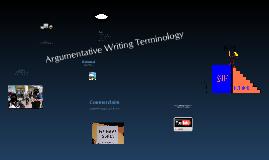 Argumentative Writing Terminology
