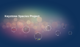 Prezi Project: Species