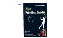 Funding guide