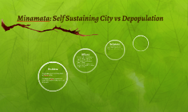 Minamata: Self Sustaining City vs Depopulation