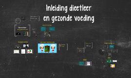 Copy of Gezonde voeding 2 lessen