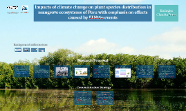 Copy of Impacts of climate change on plant species distribution in m