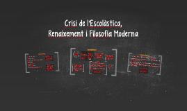 Renaixement i Filosofia Moderna
