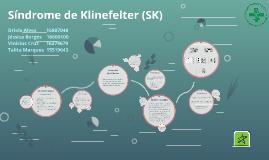 Síndrome de Klinefelter (SK)