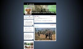 Copy of Copy of la evolucion del elefante
